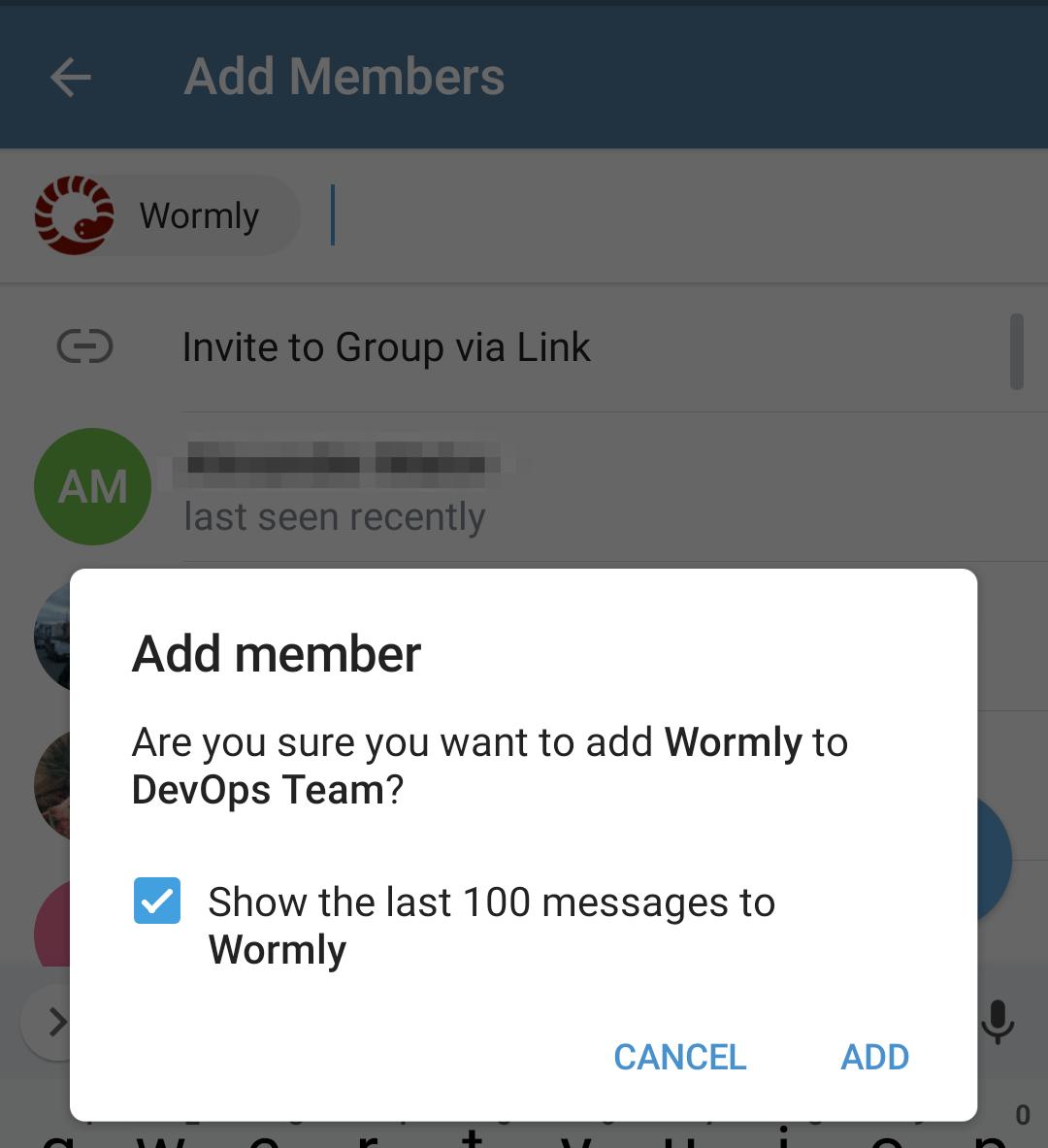 Add Telegram Group Member