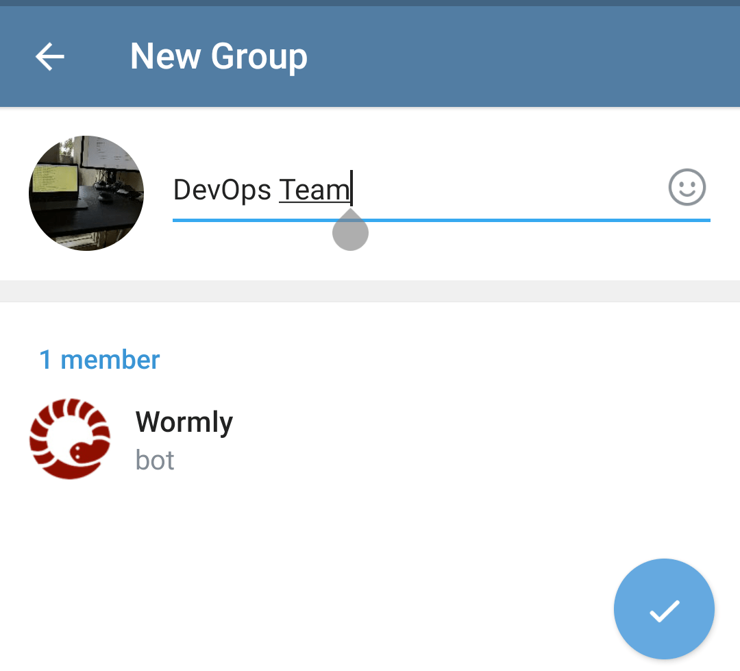Create Telegram Alert Group